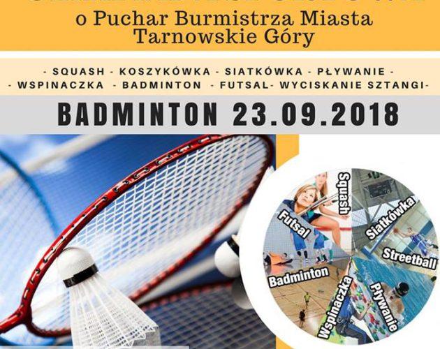 Zdjęcie wyróżnione wpisu - Olimpiada Sportowa o Puchar Burmistrza w badmintonie