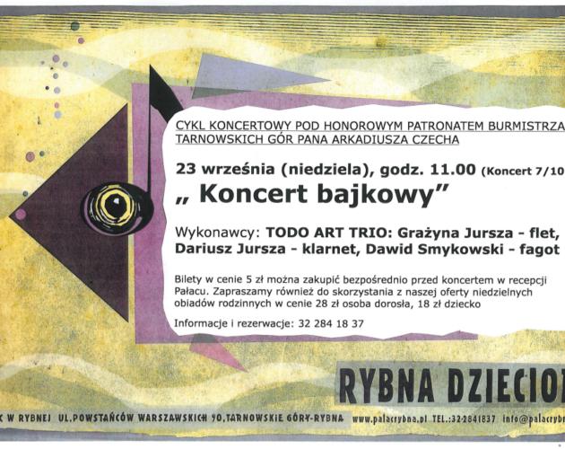 Zdjęcie wyróżnione wpisu - Rybna dzieciom – kolejny koncert już 23 września!
