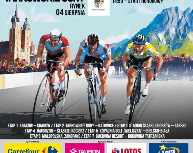 Zdjęcie wyróżnione wpisu - 76. TOUR DE POLOGNE UCI WORLD TOUR