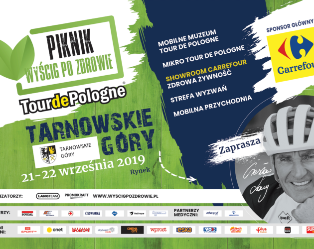 Zdjęcie wyróżnione wpisu - Wyścig po Zdrowie Tour de Pologne