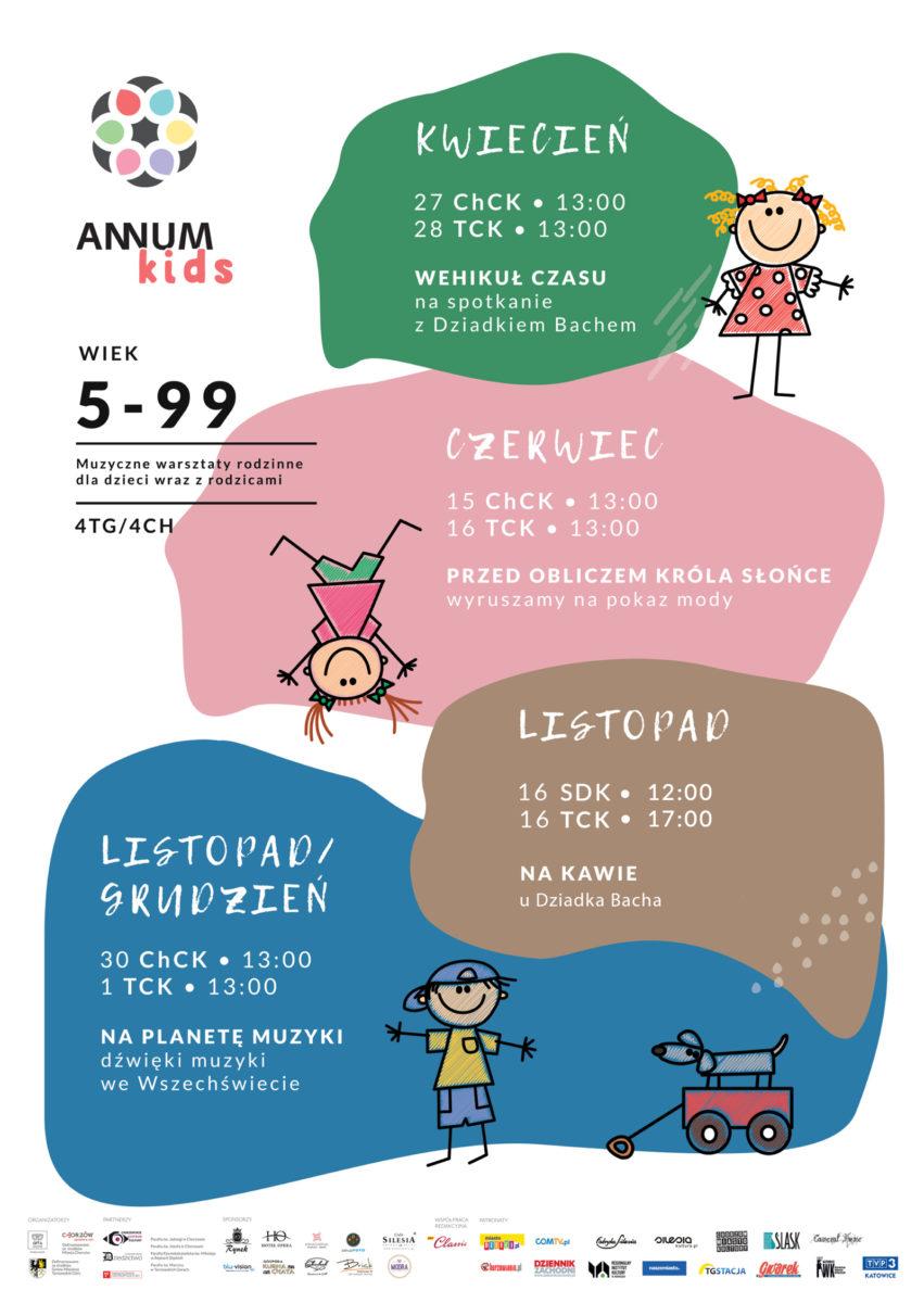 Plakat wydarzenia ANNUM Festiwal.