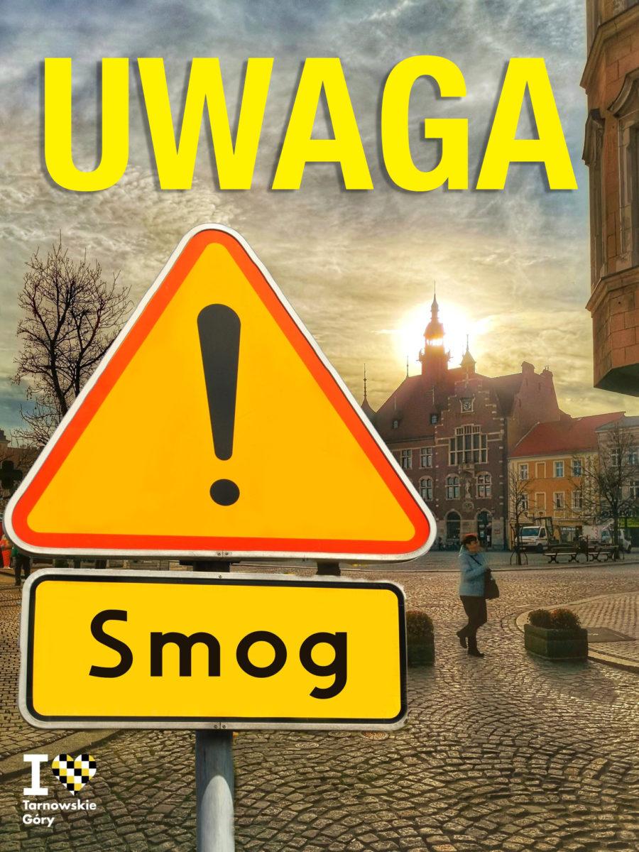 Uwaga smog - infografika