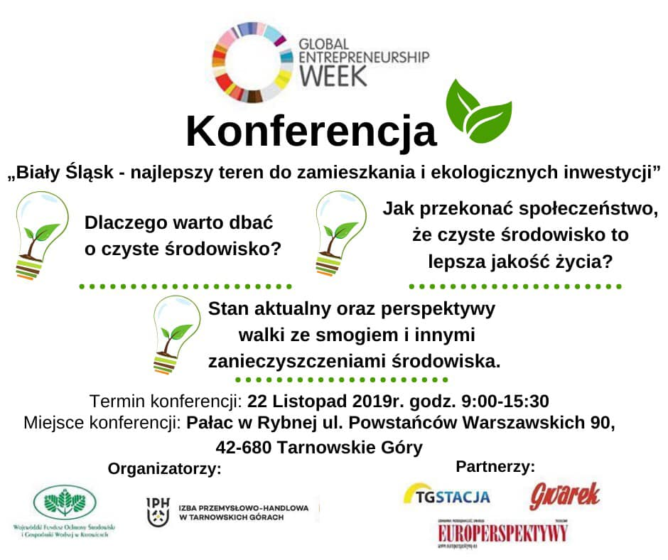 Plakat Konferencji Biały Śląsk.