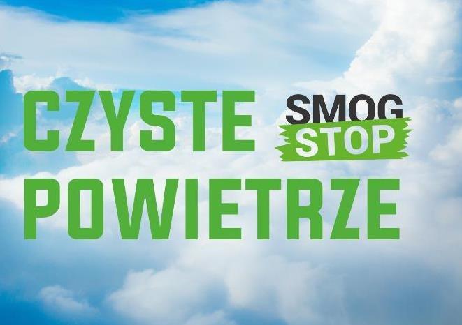 Plakat akcji Czyste Powietrze.