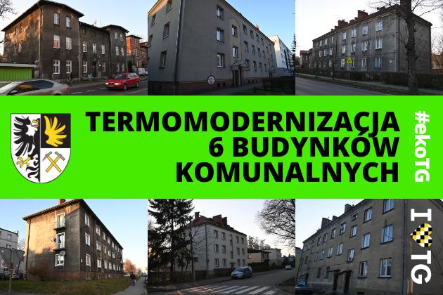 Zdjęcie wyróżnione wpisu - Kolejne miejskie budynki idą do termomodernizacji!