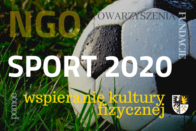 Zdjęcie wyróżnione wpisu - Konkurs: wspieranie kultury fizycznej w roku 2020