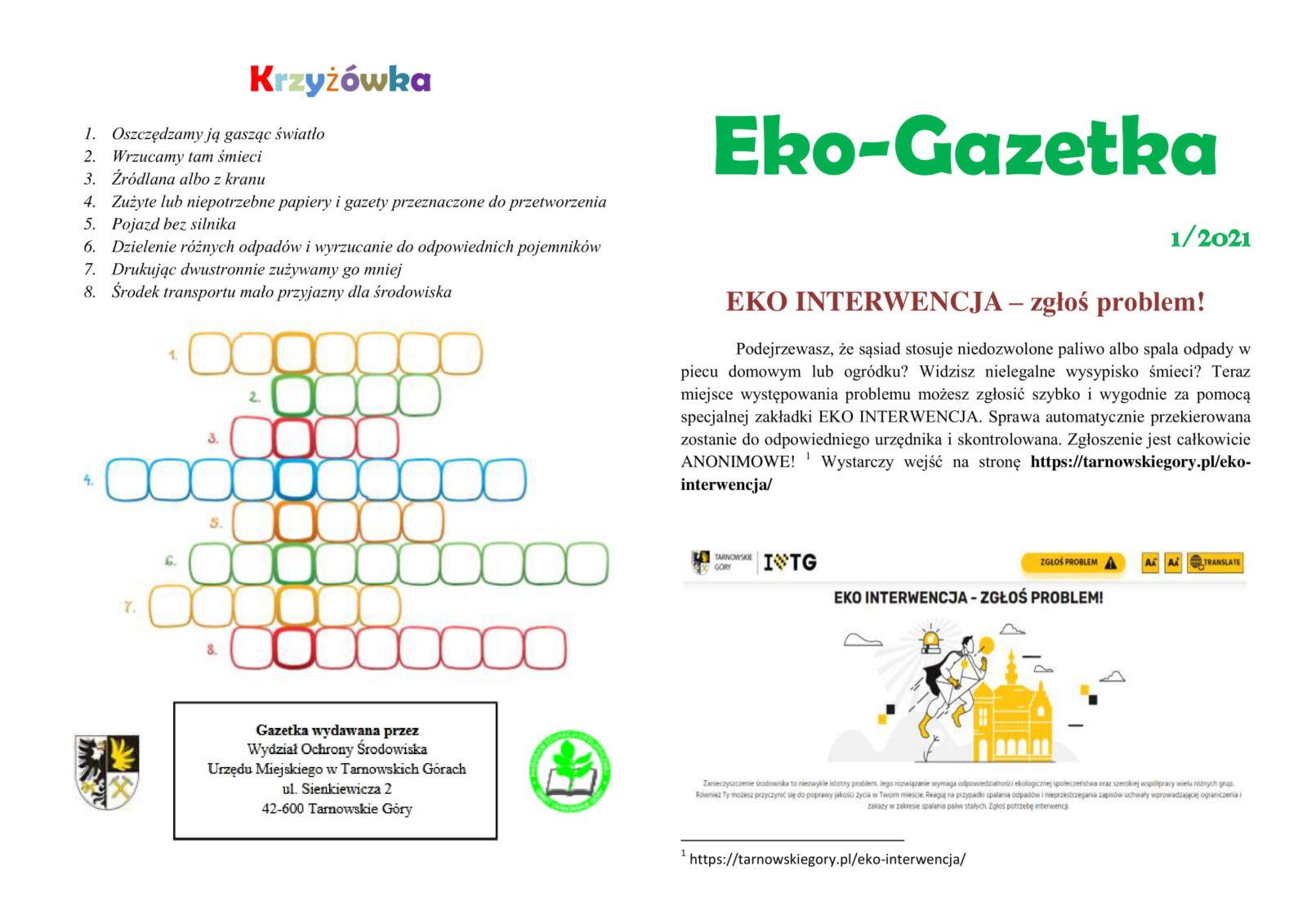 Nowa Eko Gazetka 2021