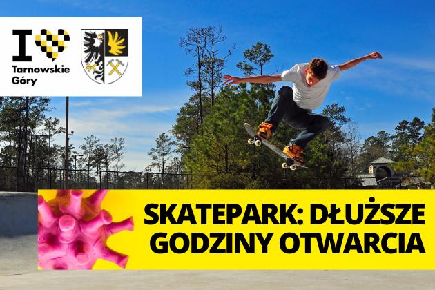 Zdjęcie wyróżnione wpisu - Skatepark: dłuższe godziny otwarcia