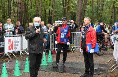 Burmistrz Arkadiusz Czech rozpoczyna zawody