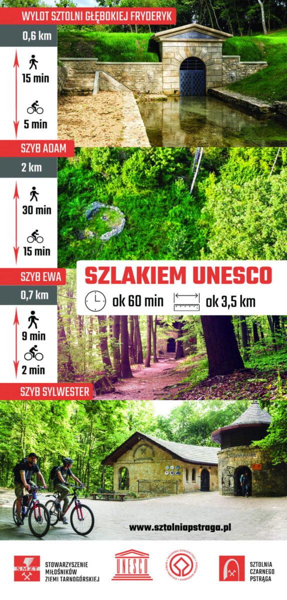 Szlakiem UNESCO - plakat reklamowy