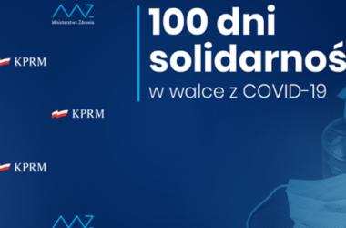 COVID19: 100 dni solidarności - Infografika
