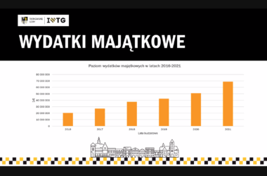 Wydatki majątkowe - miasta Tarnowskie Góry - tabela
