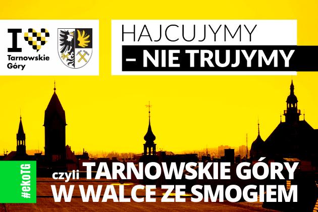 Hajcujymy - nie trujemy czyli Tarnowskie Góry w walce ze smogiem - infografika