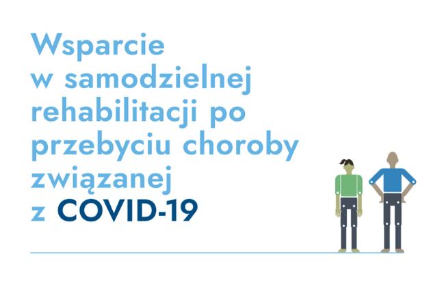 Wsparcie dla samodzielnej rehabilitacji po COVID-19 - infografika
