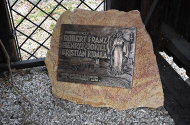 Nowy dzwon na tarnogórskiej Dzwonnicy Gwarków - tablica pamiątkowa