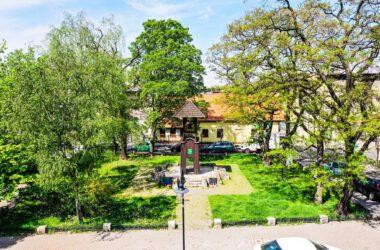 Tarnogórska Dzwonnica Gwarków - widok ogólny