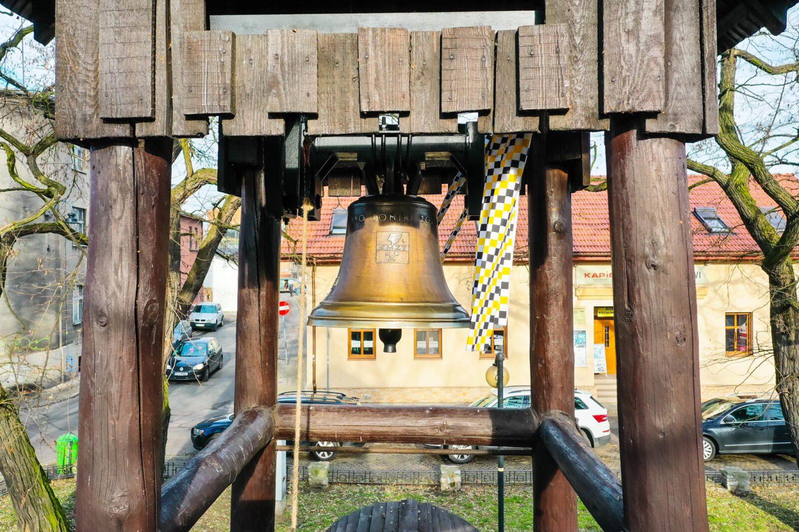 Nowy dzwon na tarnogórskiej Dzwonnicy Gwarków