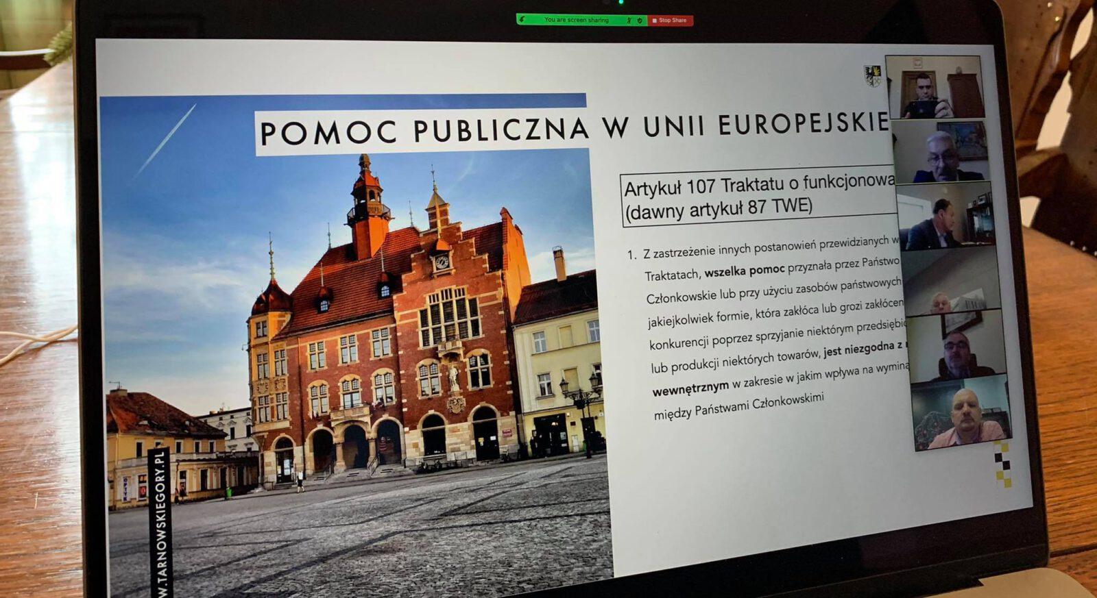 Pomoc publiczna w Unii Europejskiej Artykuł 107 - infografika