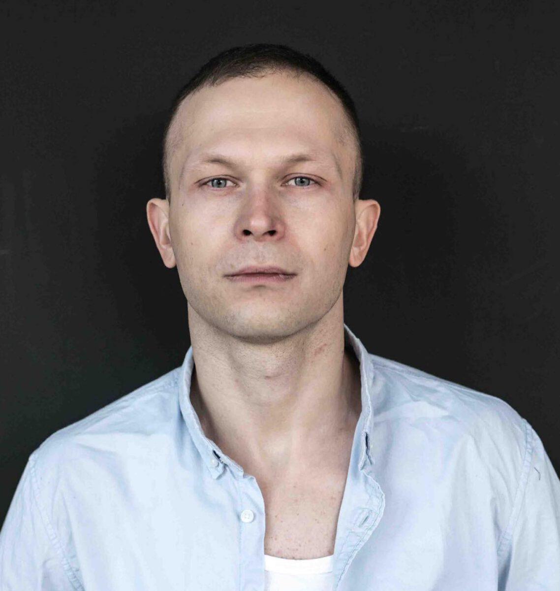 Piotr Trojan - portret aktora