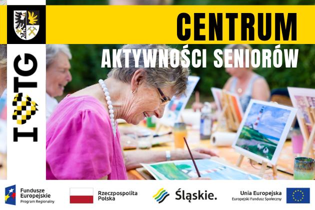 Centrum Aktywności Seniorów - infografika