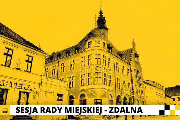 Sesja Rady Miejskiej - infografika