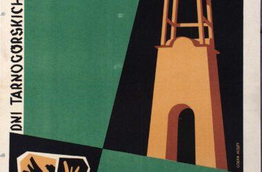 Plakat Gwarków z roku 1957