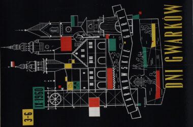 Plakat Gwarków z roku 1960