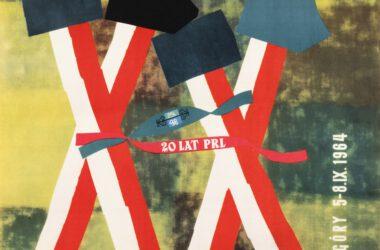 Plakat Tarnogórskich Gwarków z roku 1964