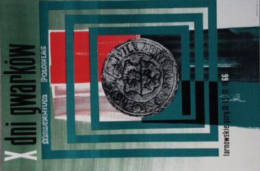 Plakat Tarnogórskich Gwarków z roku 1966