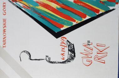 Plakat Tarnogórskich Gwarków z roku 1969