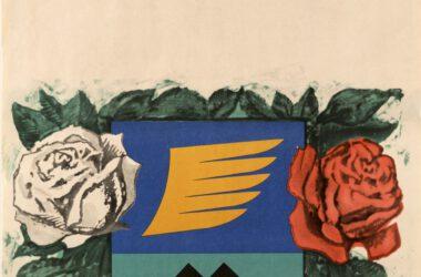 Plakat Tarnogórskich Gwarków z roku 1970