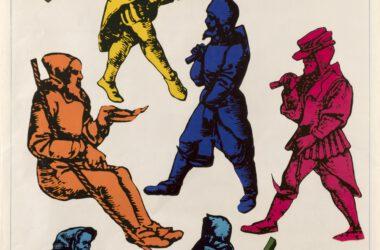 Plakat Tarnogórskich Gwarków z roku 1975