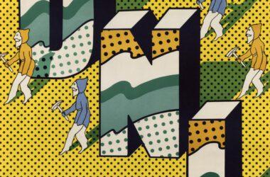 Plakat Tarnogórskich Gwarków z roku 1976