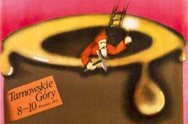 Plakat Tarnogórskich Gwarków z roku 1979