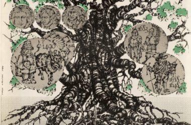 Plakat Tarnogórskich Gwarków z roku 1984