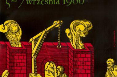 Plakat Tarnogórskich Gwarków z roku 1986