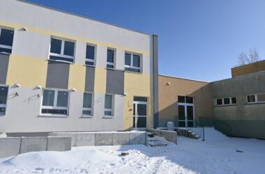 Budowa Centrum Aktywności Seniorów - widok z zewnątrz