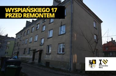 Budynki w Tarnowskich Górach po termomodernizacji