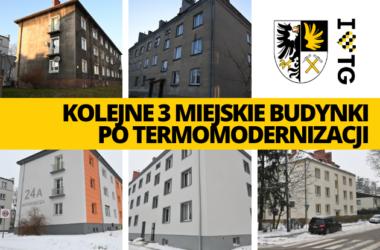 Budynki w Tarnowskich Górach po termomodernizacji - infografika