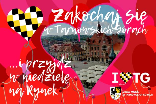Walentynki 2021 w Tarnowskich Górach - infografika