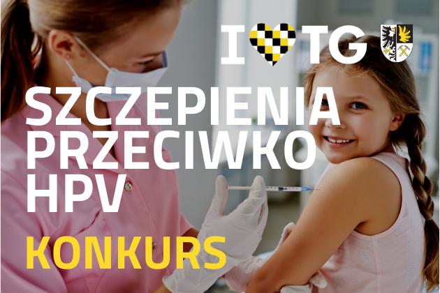 Szczepienia przeciwko HPV - Konkurs - infografika