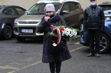 Krystyna Zatoń - prezes stowarzyszenia Rodzin Katyńskich