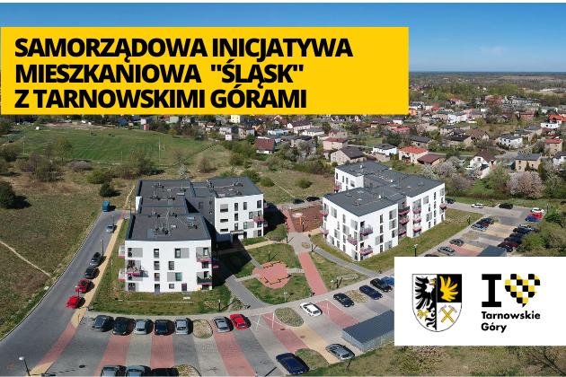 Samorządowo Inicjatywa Mieszkaniowa Śląsk z Tarnowskimi Górami - infografika