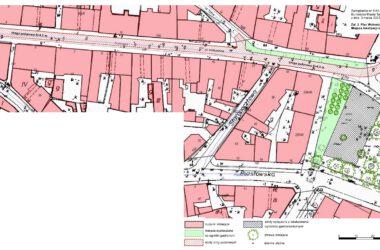 Mapa - Krakowska - Plac Wolności
