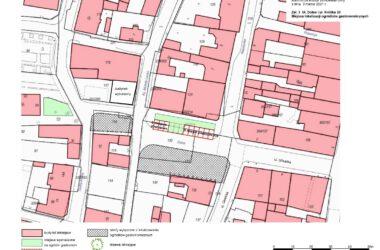 Mapa - ulica Dolna