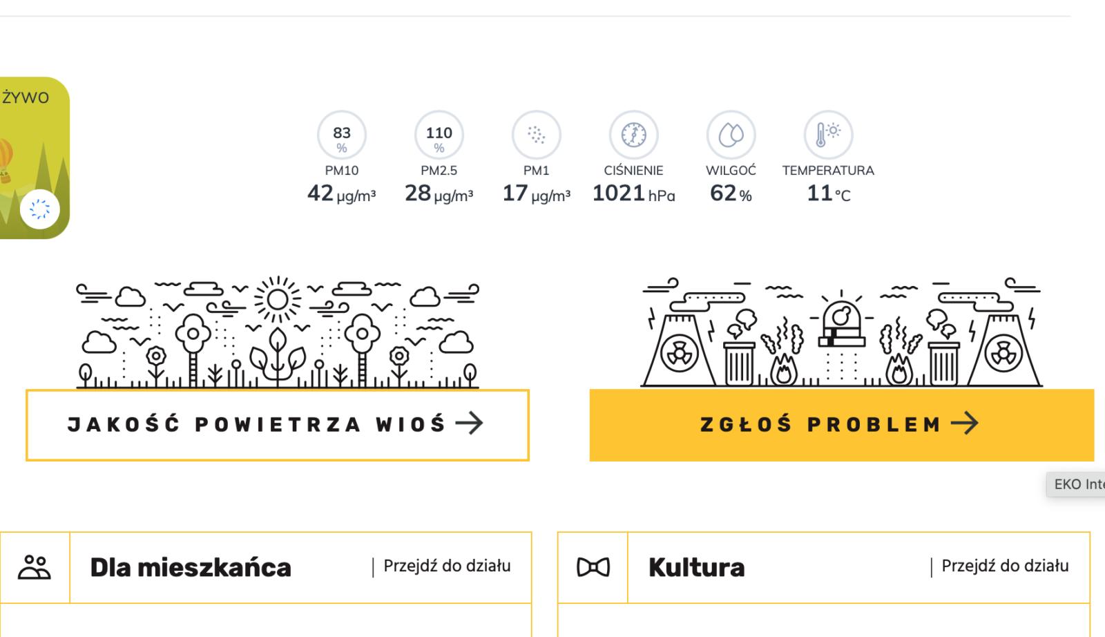 infografika - zgłoś problem