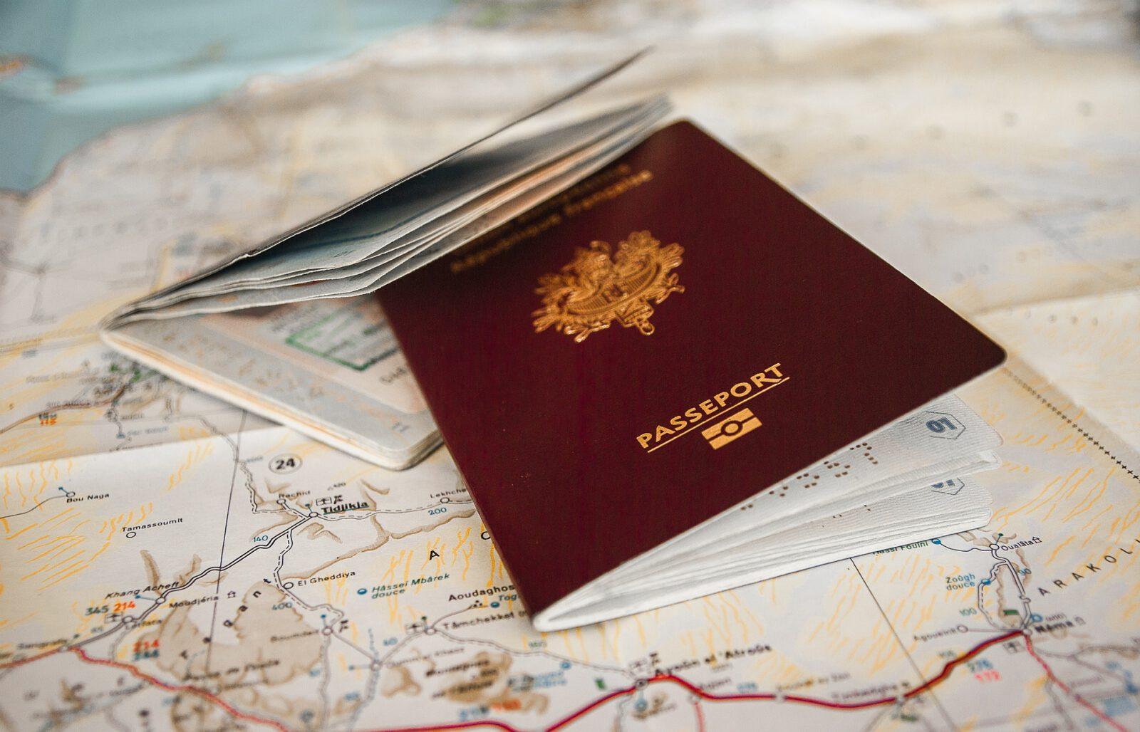 Paszport - infografika