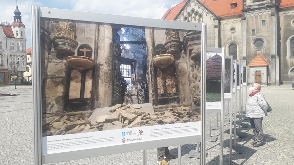 Wystawa na rynku w Tarnowskich Górach