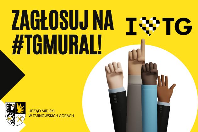 Zagłosuj na TGMURAL- infografika
