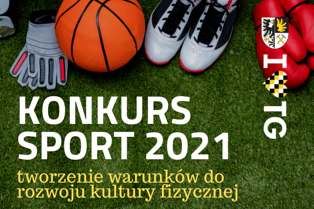 Konkurs Sport 2021 - infografika